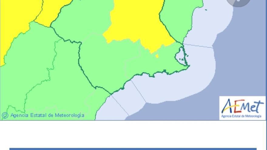 Continúa la alerta amarilla por altas temperaturas en algunas zonas de la Región de Murcia