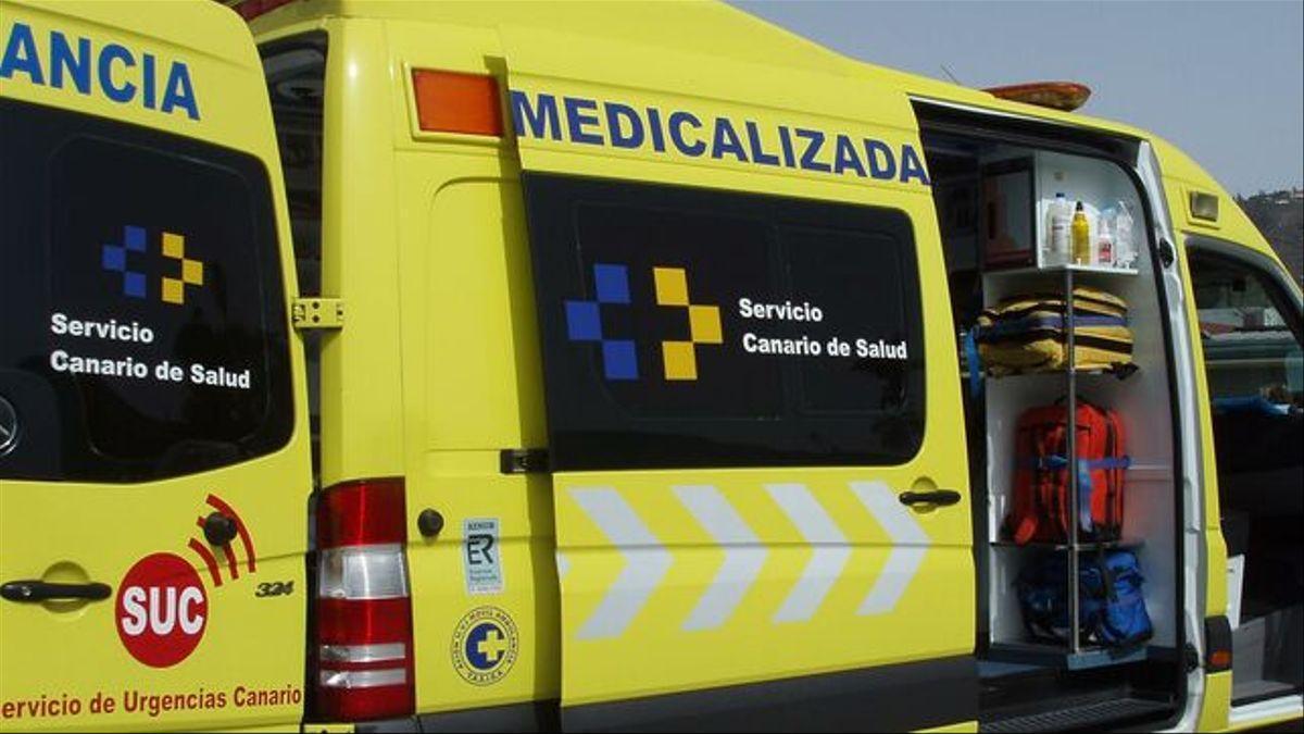 Ambulancia del SUC, en una imagen de archivo