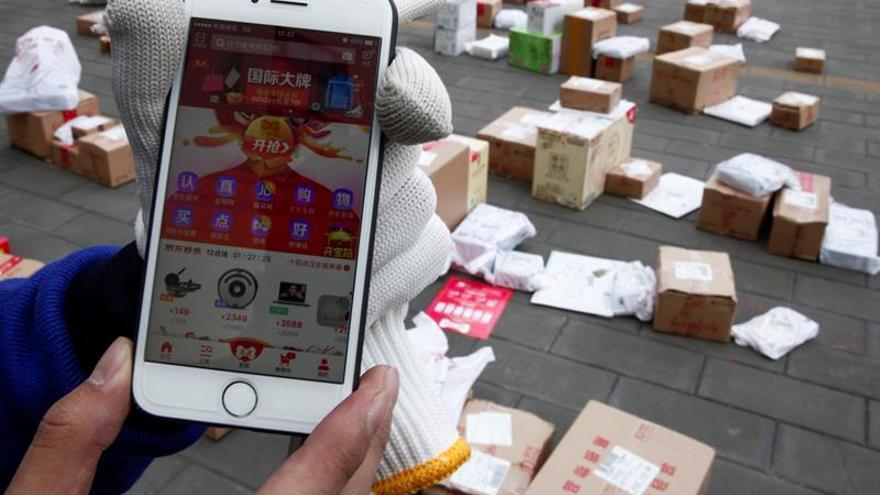 Las ventas por internet subieron un 32,1 % en China durante el primer trimestre
