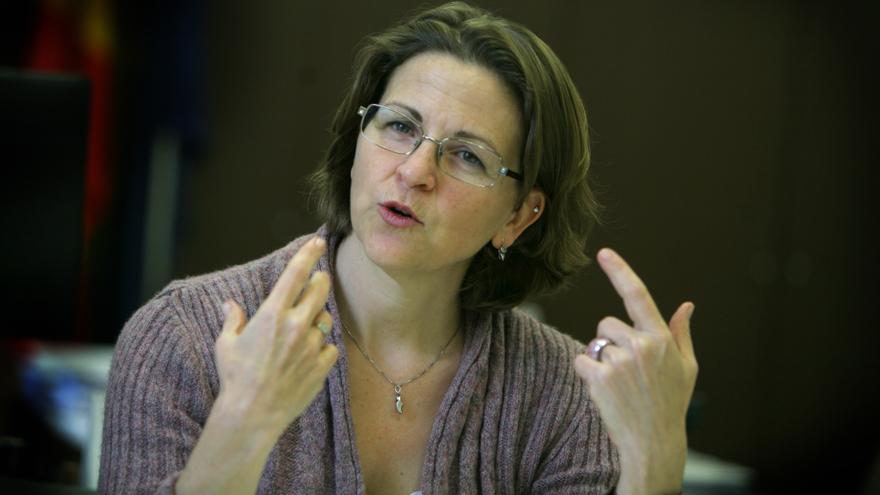 Elena Cebrián, consellera