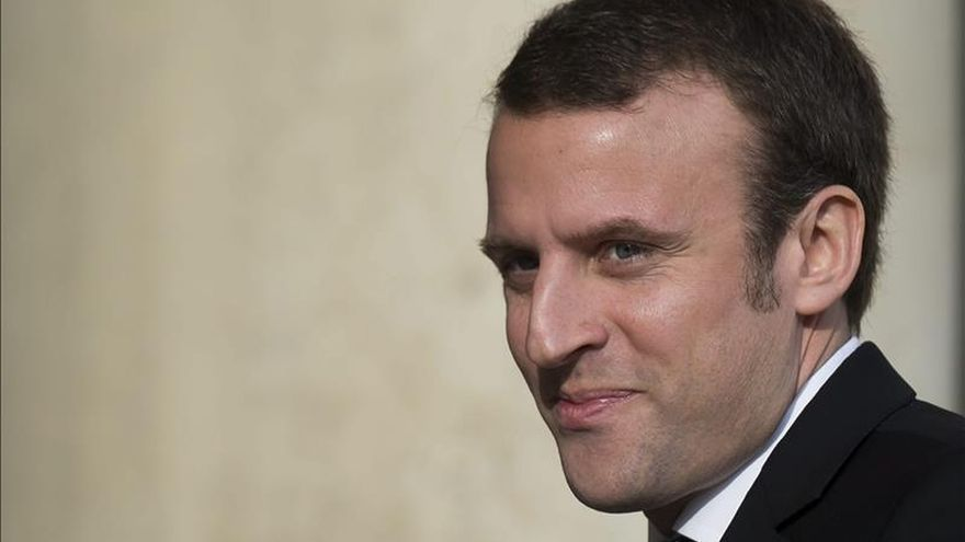 Macron defiende una Europa a dos velocidades, los de la eurozona y los otros