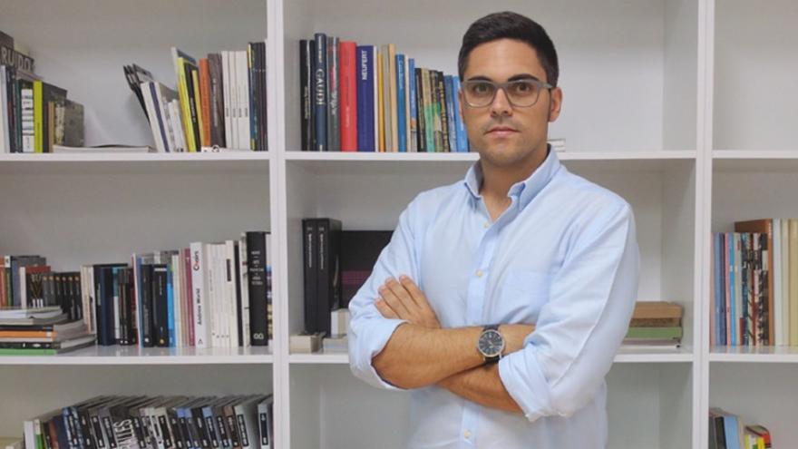 Armando Acosta, concejal de Juventud y Educación del Ayuntamiento de Los Llanos de Aridane.