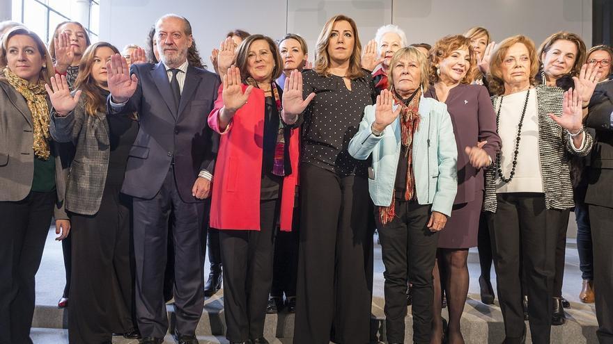 Susana Díaz anuncia que la Junta reformará la Ley de Violencia de Género para adaptarla a la normativa europea