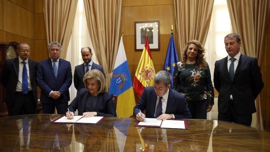 """Empleo y el Gobierno de Canarias firman un PIE dotado con 42 millones destinado a crear """"empleo real"""""""