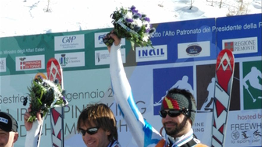 Ndp. Jon Santacana También Gana El Oro En Gigante Durante El Mundial De Esquí Al