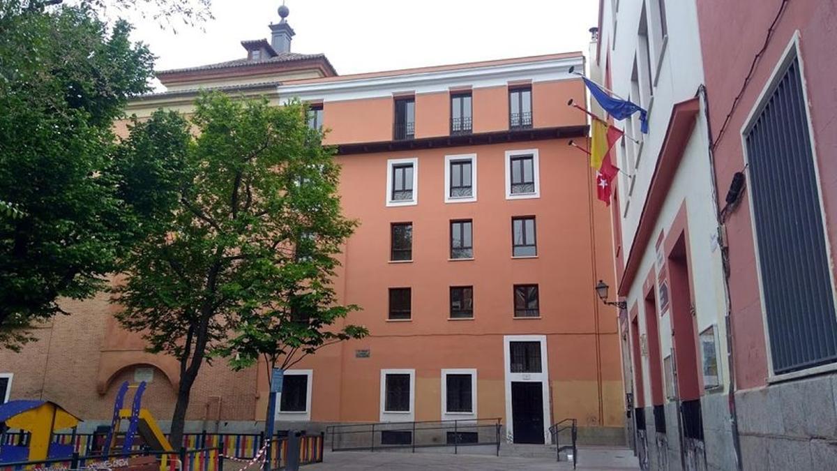 La Casa del Cura, en la plaza del Dos de Mayo