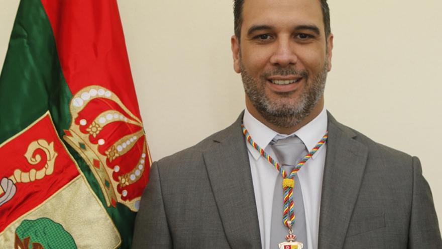 El concejal Carmelo García Martín. (Ayuntamiento de Arona)