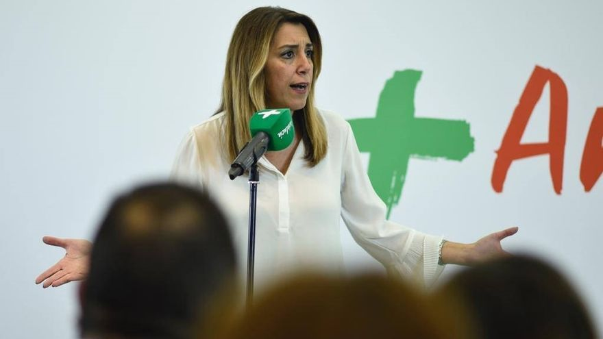 """Susana Díaz afirma que no estaría """"encantada"""" de recibir votos de la ultraderecha y reclama el voto de progresistas"""
