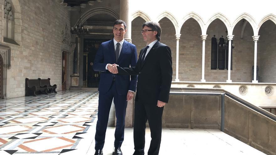 Pedro Sánchez asegura que lo primero que hará si gana será reunirse con Puigdemont