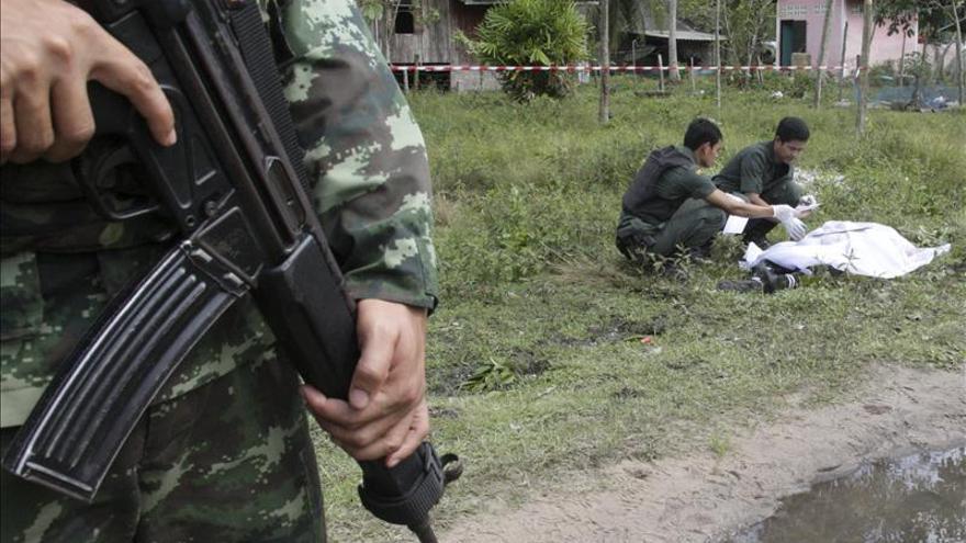Un muerto y 4 heridos por la explosión de una bomba en un hotel del sur de Tailandia