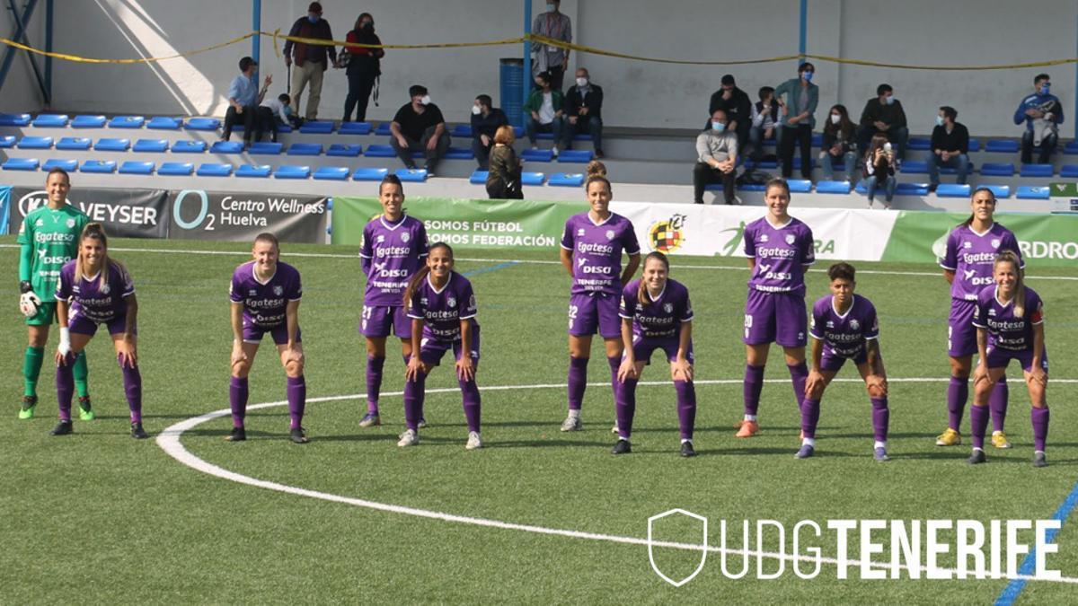 Formación de la UDG Tenerife en Huelva