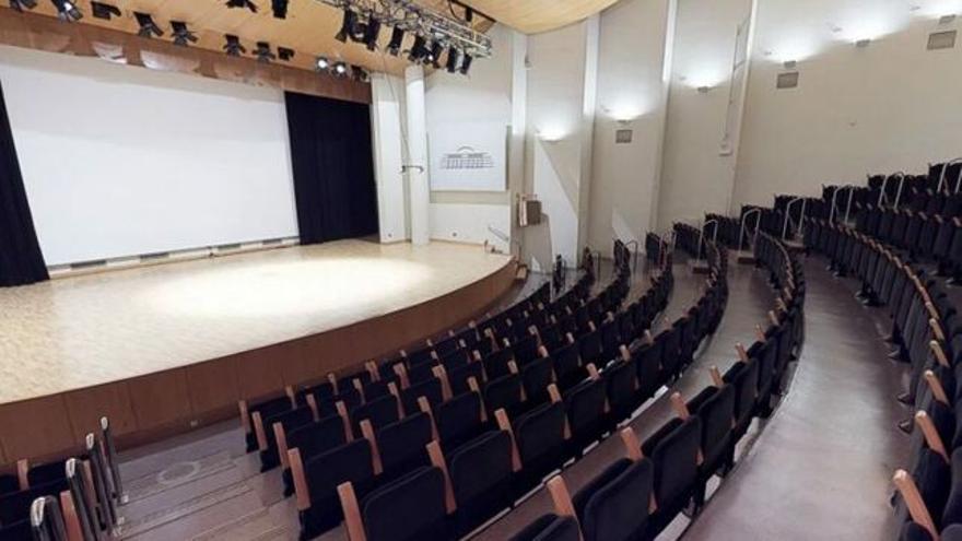 La sala Joaquín Rodrigo del Palau de la Música de Valencia.