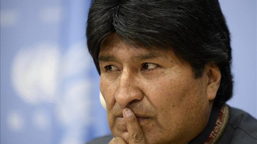Morales pide a Chile que no supedite el diálogo a la retirada de la demanda marítima