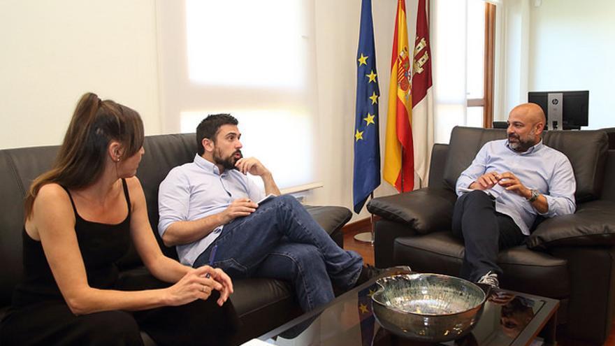 Inmaculada Herranz, Ramón Espinar y José García Molina