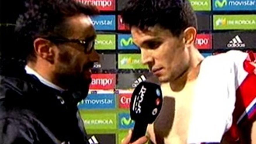 """Bartra da a Juanma Castaño la frase de la noche: """"A Piqué se le fue un poco"""""""