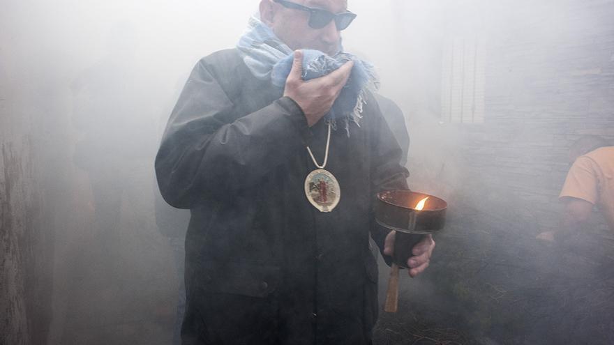 Procesión del humo en Arnedillo (La Rioja)