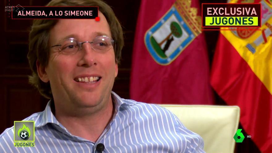 José Luis Martínez Almeida, en 'Jugones'