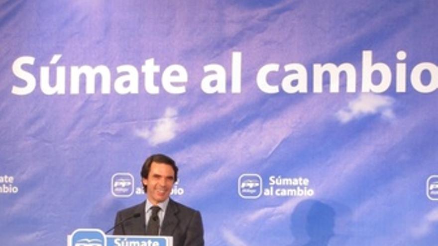 Aznar En Un Acto En Fuengirola (Málaga)
