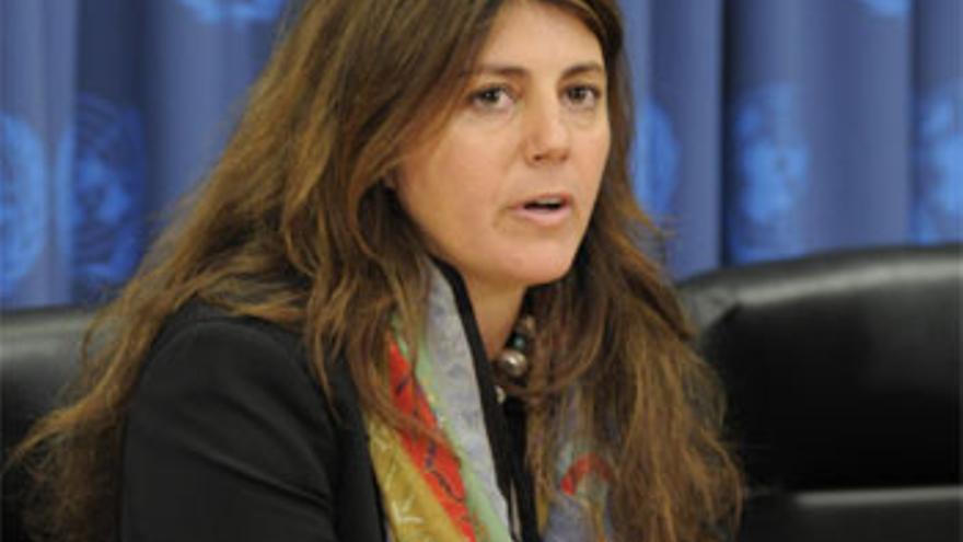Relatora Especial de la ONU para la pobreza extrema y los derechos humanos./Imagen cedida