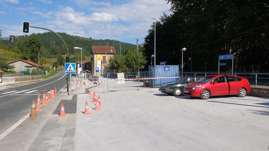 """ETS reformará """"en breve"""" la cubierta de la estación de Zugastieta, con una inversión de 64.000 euros"""