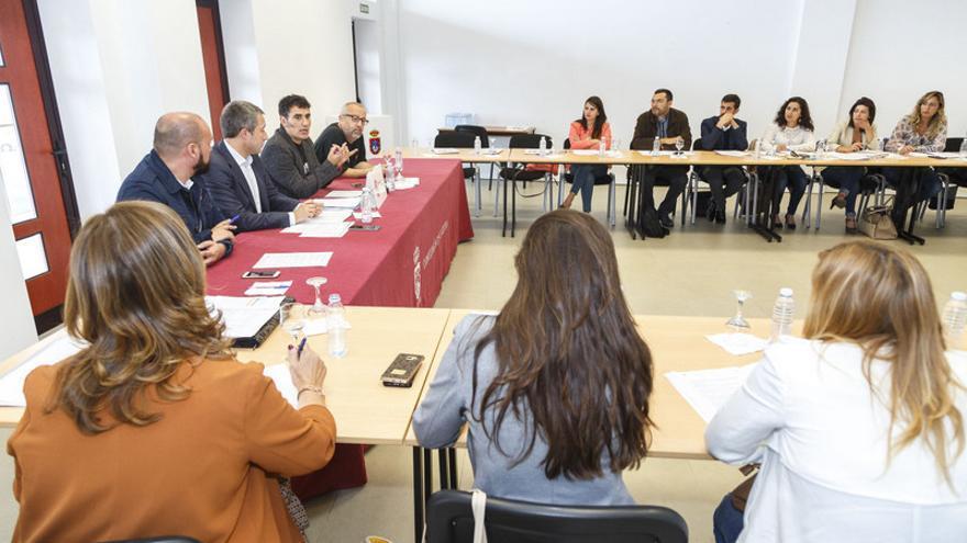 Reunión de la Mesa Insular de Cultura en Granadilla de Abona