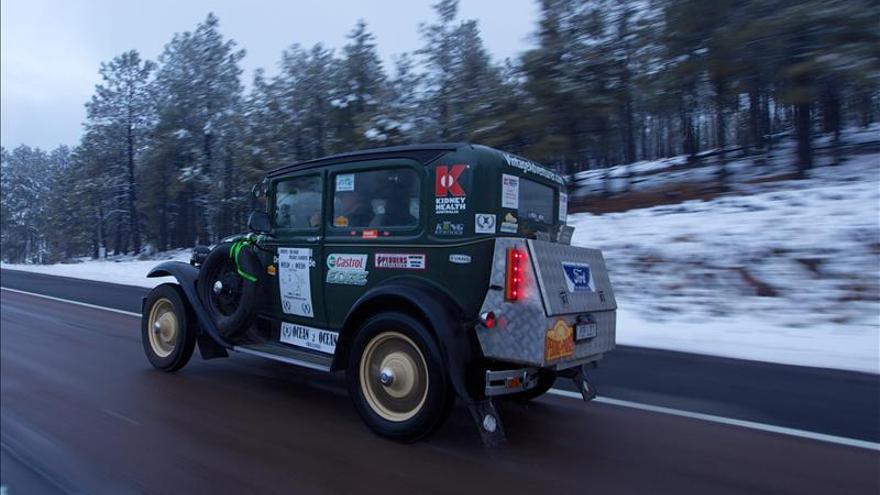 50 Horas para recorrer Estados Unidos de costa a costa en un Ford de 1930