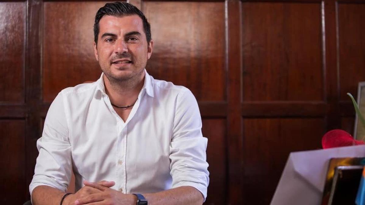Manuel Perera,  concejal de Urbanismo del Ayuntamiento de Los Llanos de Aridane.