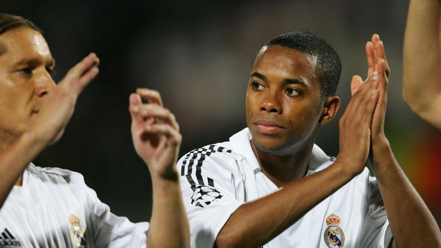 Robinho, exfutbolista del Real Madrid.