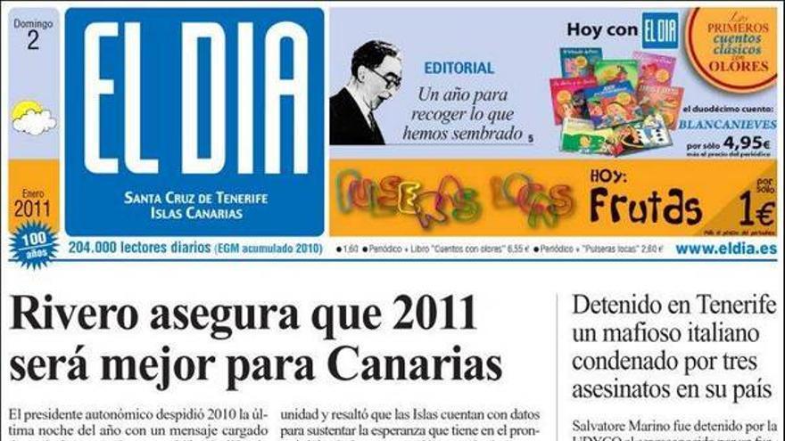 De las portadas del día (02/01/2011) #2
