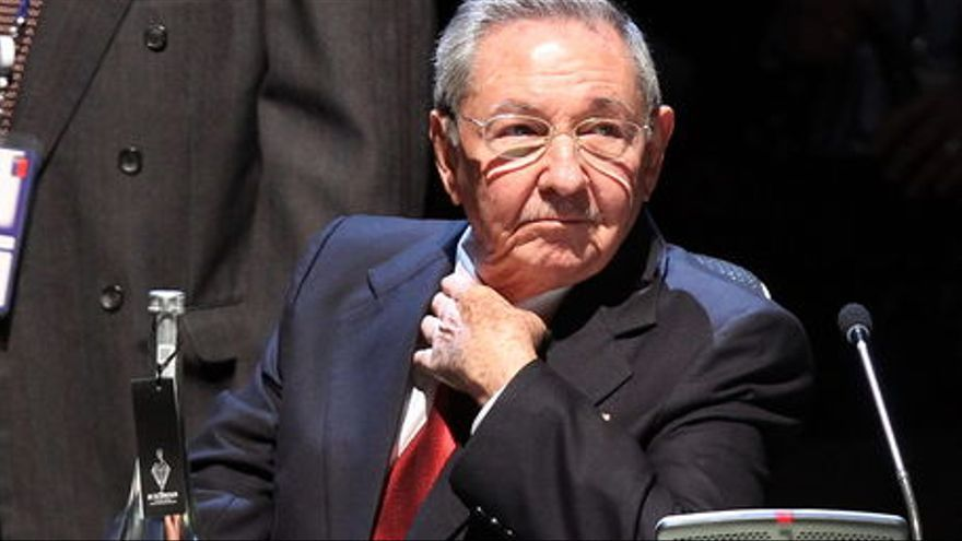 Raúl Castro, presidente de Cuba. Foto: EFE