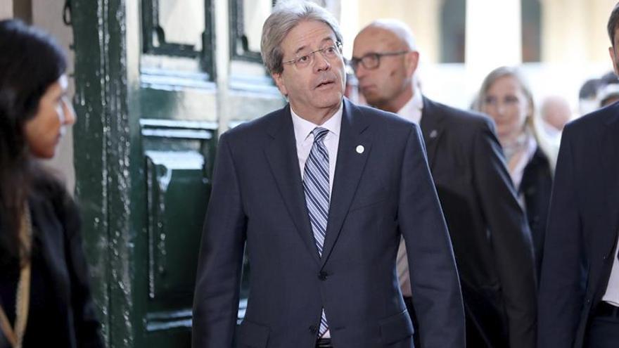 """Gentiloni dice que sería un error castigar al Reino Unido por el """"brexit"""""""