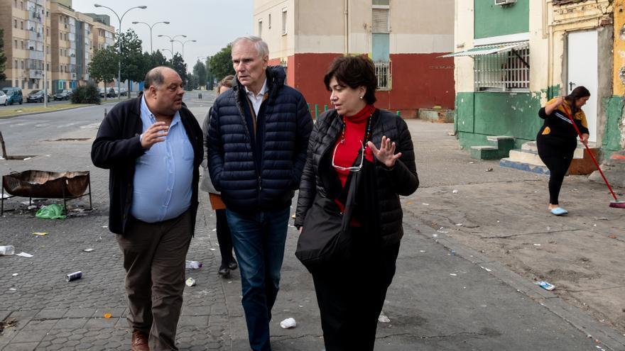 El Relator Especial visita el Polígono Sur de Andalucía.