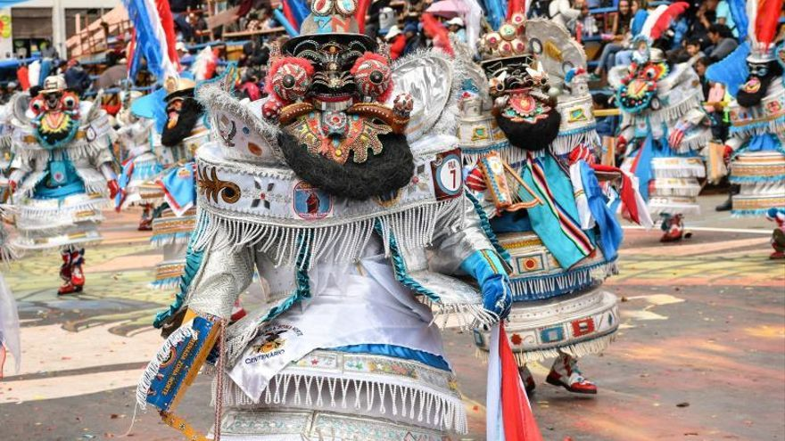 Color y cultura a flor de piel en el Carnaval de Oruro en Bolivia