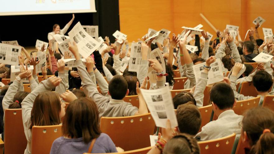 Votación de los escolares a las películas de EcoZine