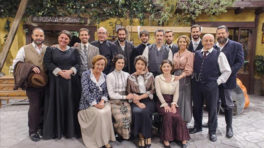 La ficción sobre la España de hace un siglo se abre paso en la tv de Italia