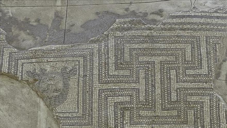 """""""Crimen"""" patrimonial en Écija (Sevilla) de un mosaico romano excepcional"""