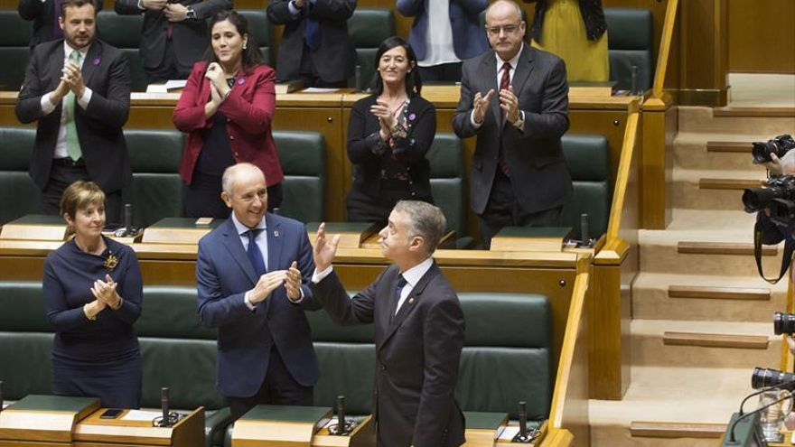 "Urkullu tiende la mano para ""unir fuerzas al servicio de Euskadi"""