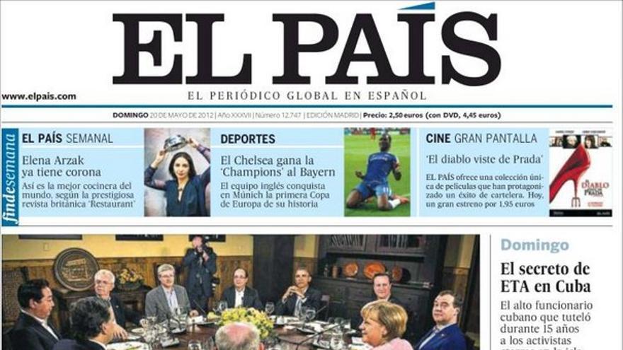 De las portadas del día (20/05/2012) #8