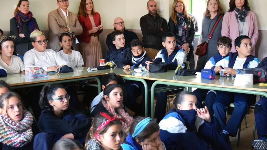 Actividad desarrollada este miércoles en el CEIP García Escámez, en Santa Cruz