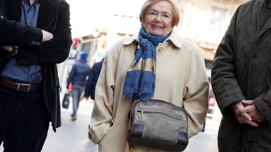 """Fallece María Teresa Castells, símbolo de la """"resistencia"""" ante ETA"""