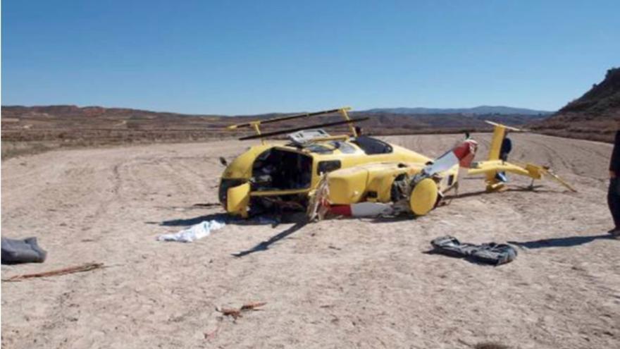 Siniestro en la provincia de Teruel en 2011. CIAIAC