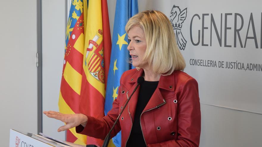 La consellera de Justicia, Gabriela Bravo.