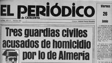 Portada de El Periódico de Catalunya.