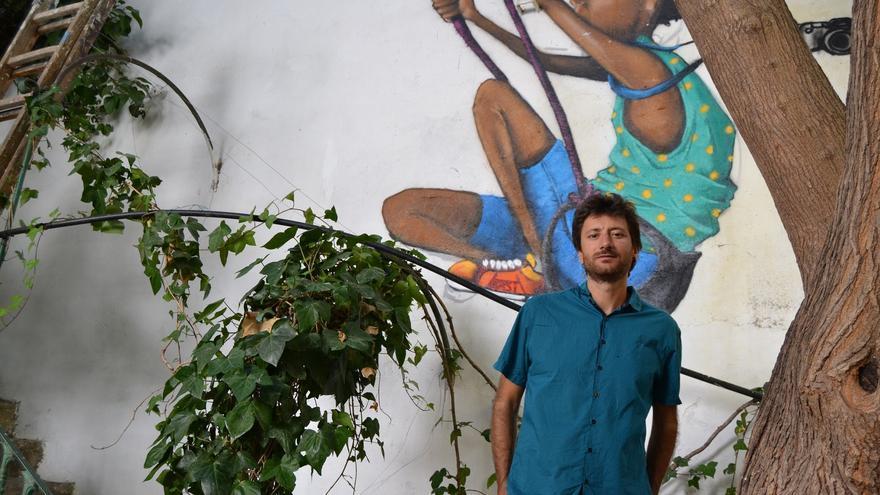 Santi Fernández, autor de 'Grietas'