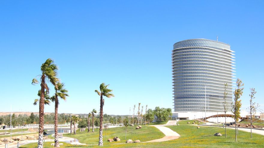 Parque del Agua de Zaragoza.
