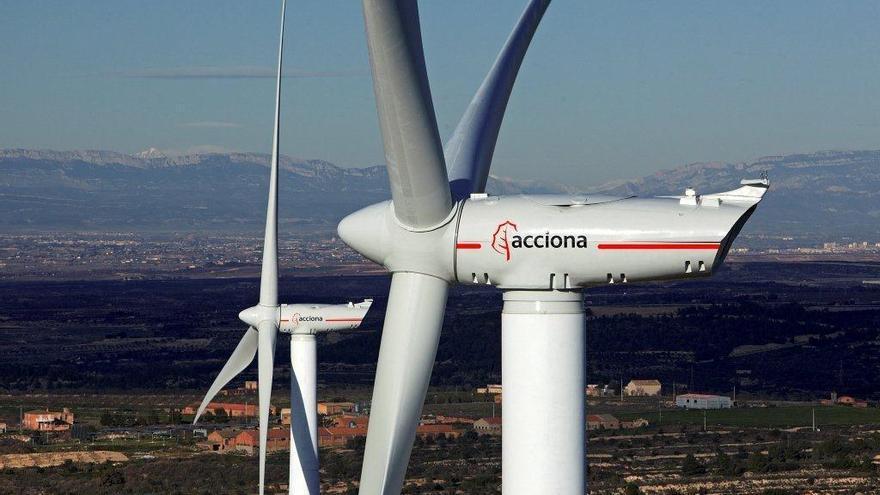 Parque eólico de Els Escambrons, Lleida.