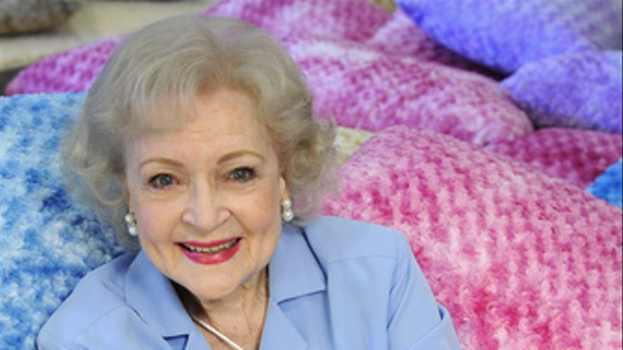 Betty White, una de las actrices de 'Las Chicas de Oro'