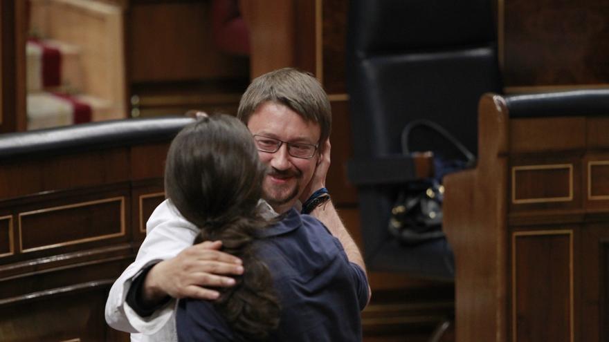Pablo Iglesias recalca que Podemos y En Comú seguirán caminando juntos, sea cual sea la fórmula que se adopte