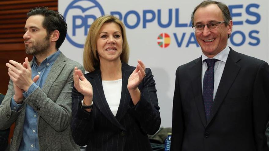 Cospedal: La derrota final de ETA es que no ganen el relato