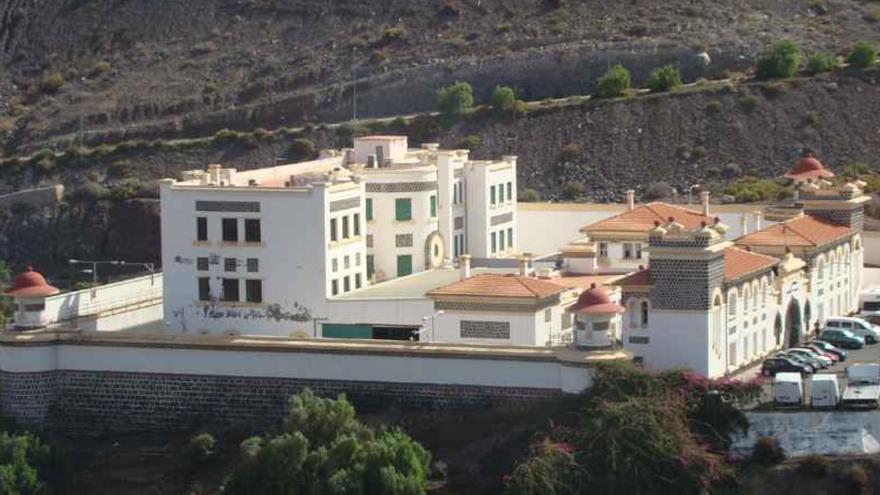 Centro de Internamiento de Extranjeros de Barranco Seco, en Las Palmas de Gran Canaria.